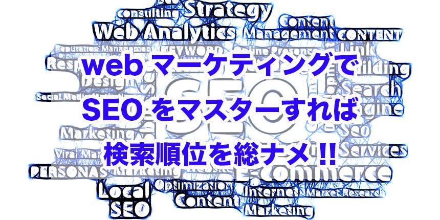 Webマーケティング SEO 検索順位